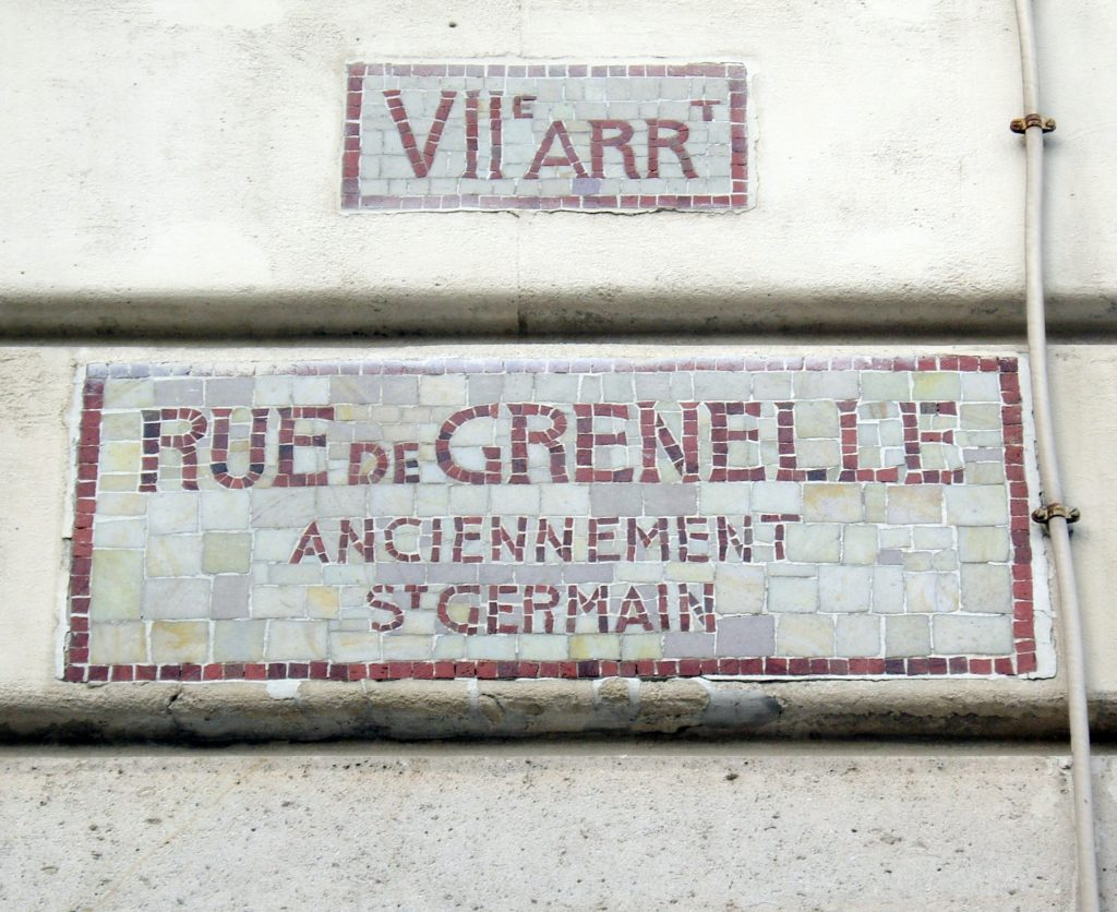 rue Grenelle