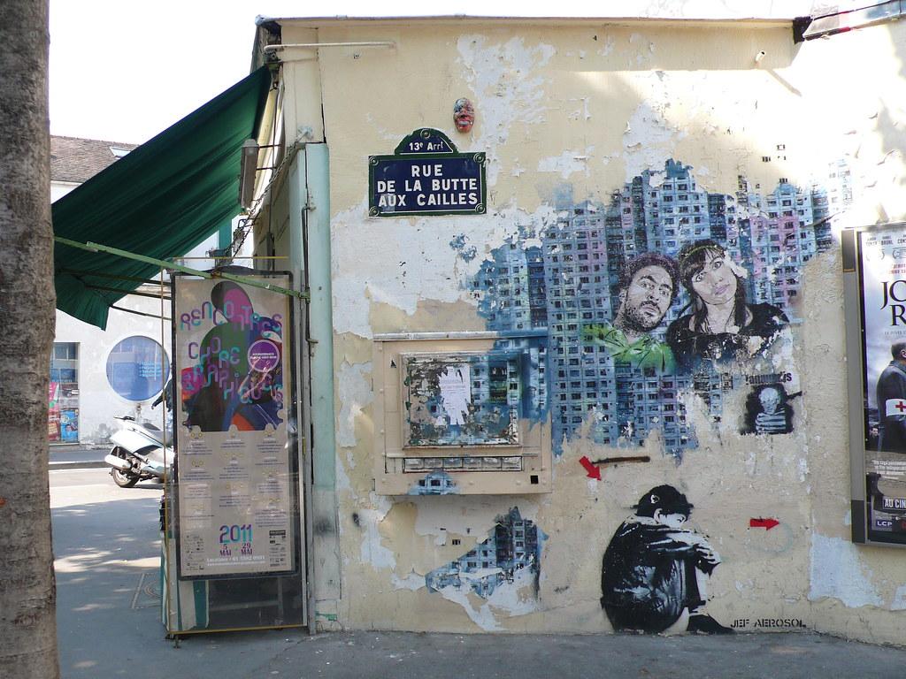 Paris 13eme Butte aux CAilles